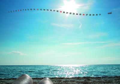 Kalender 2013 - Langeland Dänemark - Mai