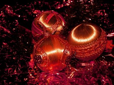Alte Weihnachtskugeln