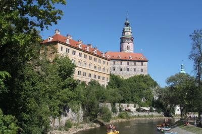 Burg, Böhmisch Krumau_1