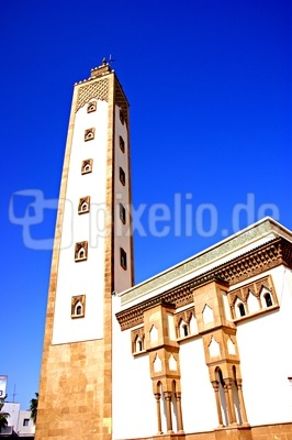 """Die Moschee Mohammed V"""