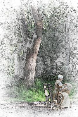 Die Spinnerin vom Wienerwald