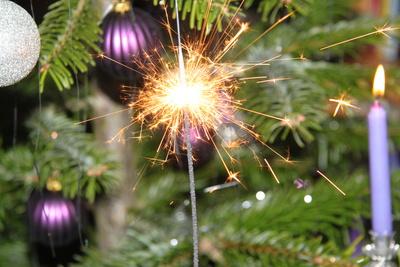 Wunderkerze - Weihnachtsgruß