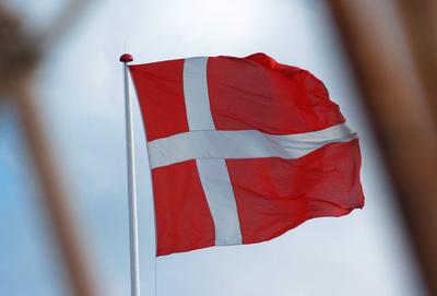 Dänemark oder Flagge zeigen