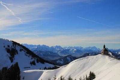 Wallberg und das Karwendel