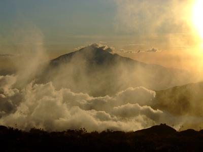 Nachbargipfel Kilimantscharo