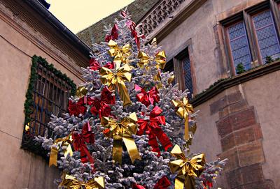 Weihnachtsbaum in Colmar