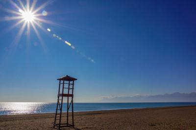 Strandpanorama bei Antalya