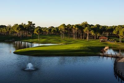 Sueno Golf Resort Pines-Course, Grün 9