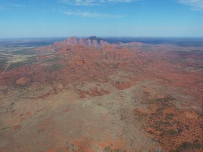 Beim Uluru/Austr. 1