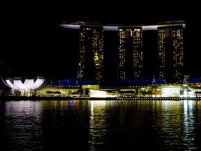 Singapur bei Nacht 5