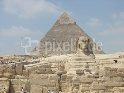 Gizeh Pyramide Sphinx