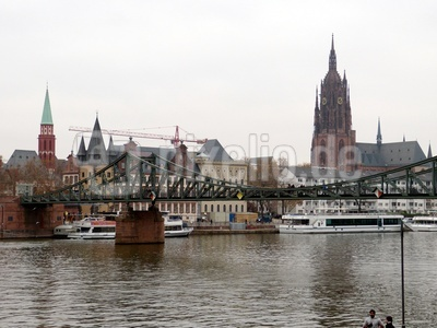 Frankfurt im Winter 1