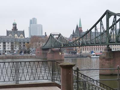 Frankfurt im Winter 2