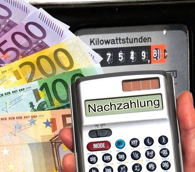 Stromkosten - Nachzahlung