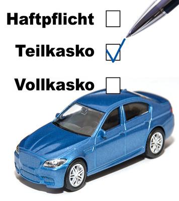 Fahrzeug - Teilkaskoversicherung