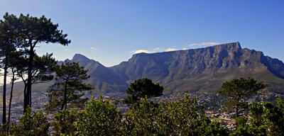 Das Wahrzeichen von Kapstadt