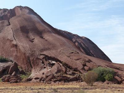 Uluru: Aufstieg