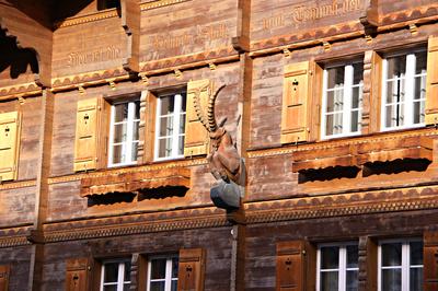 Der Gasthof Steinbock