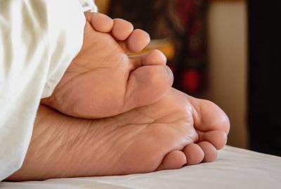 Füße - Lass mich schlafen