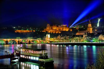 Heidelberg beleuchtet
