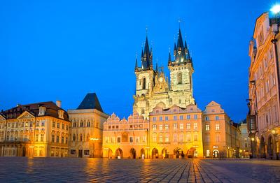 Prag Altenstätter Ring Teynkirche