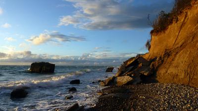 Steilküste an der Ostsee