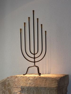 Siebenarmiger Leuchter