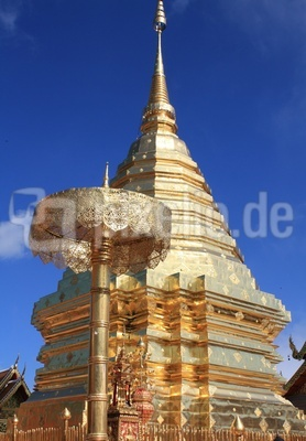 Tempel in Chiang Mai, Thailand