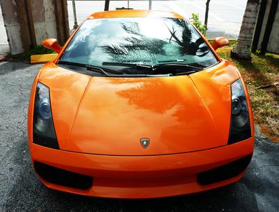 Lamborghini orange