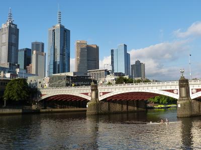 Melbourne am Yarra 6