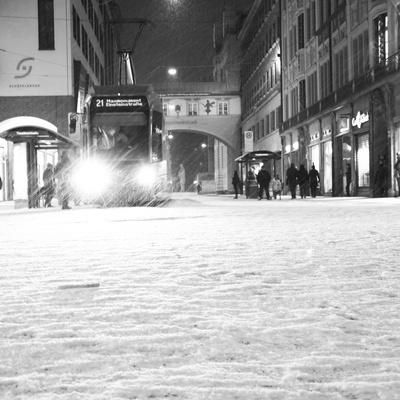 München im Schnee