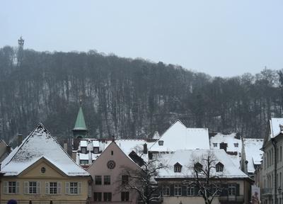 der Schloßberg im Winter 2013