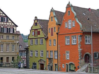 Historische Giebelhäuser . . .