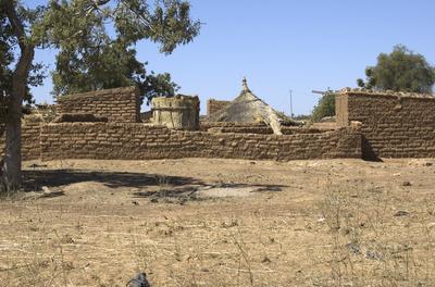 compound in Namssigi, Burkina faso