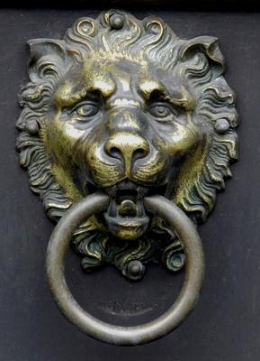 Löwen Türklopfer