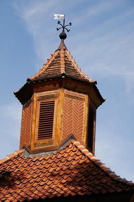 Burg Schaumburg, Dachbereich Nebengebäude