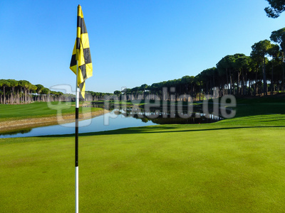 Grün 9 Carya Golf-Club, Belek