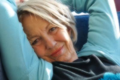 Seniorin - den Tag genießen