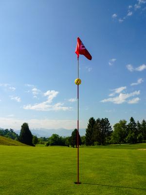 Golf - Loch 18 in Lindau am Bodensee