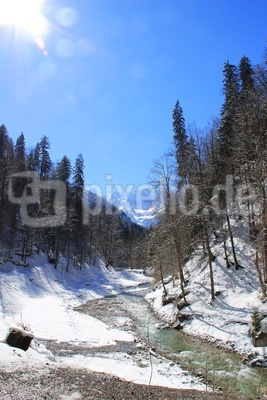 Die Partnach - ein Wildbach im Reintal 02