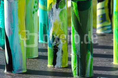 Kunst - grüner Ersatzwald