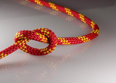 Knoten durchtrennen