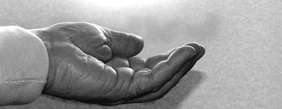 Offene Hand I
