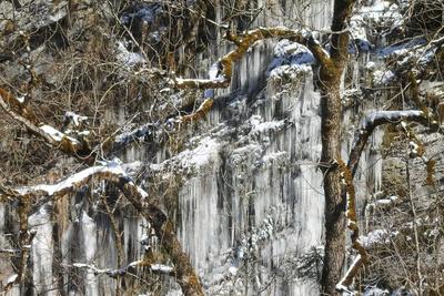 Eiswunder bei Frühlingstemperaturen