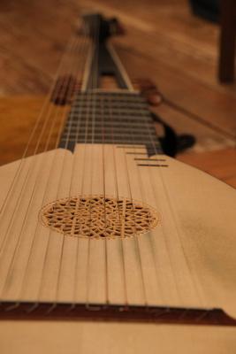 Chitarrone beim Musiksommer Loisachtal