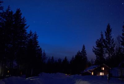 Luosto by Night
