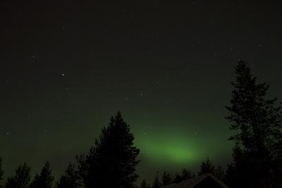 Nordlicht in Finnisch Lappland