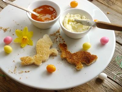 kleines Hasenfrühstück . . .