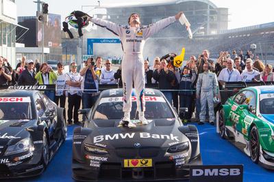 Bruno Spengler DTM Champion 2012