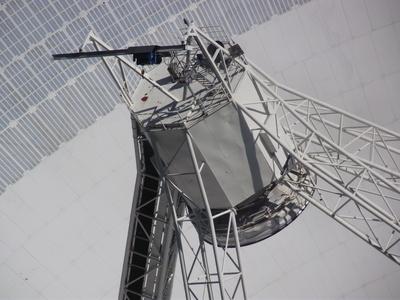 Antennenkonstruktion im Radioteleskop 2